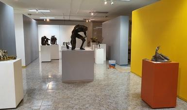 El arquitecto David Camorlinga exhibe su muestra escultórica en la UAM