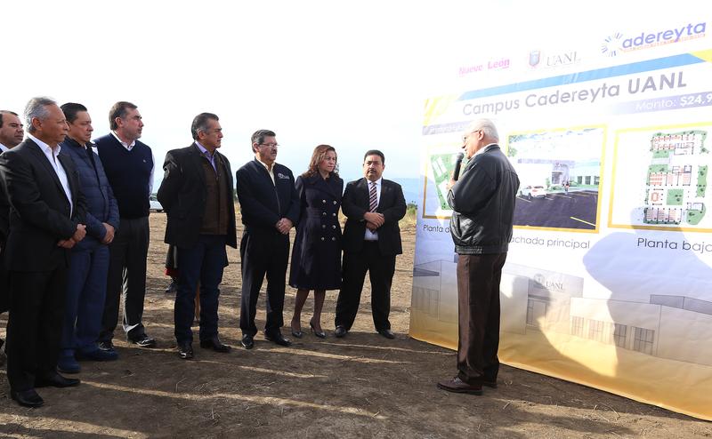 Inician trabajos de construcción del Campus Cadereyta de la UANL