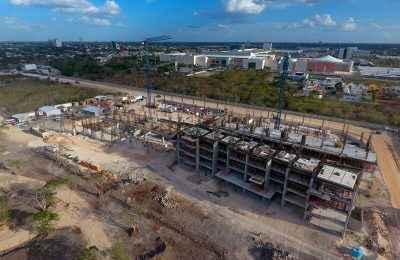 Reportan avances de complejo residencial de Vía Montejo