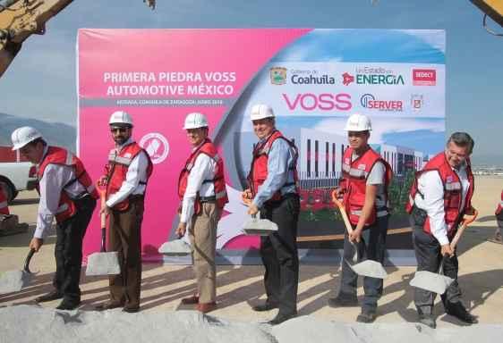 VOSS Automotive México instala planta en Coahuila