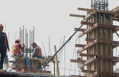 Valor de la producción de empresas constructoras cae 24.7% en 2020