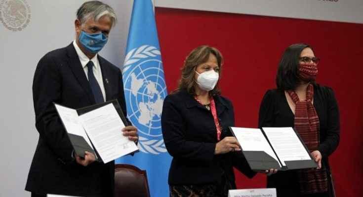 Van SRE y ONU por el Desarrollo Sostenible de México