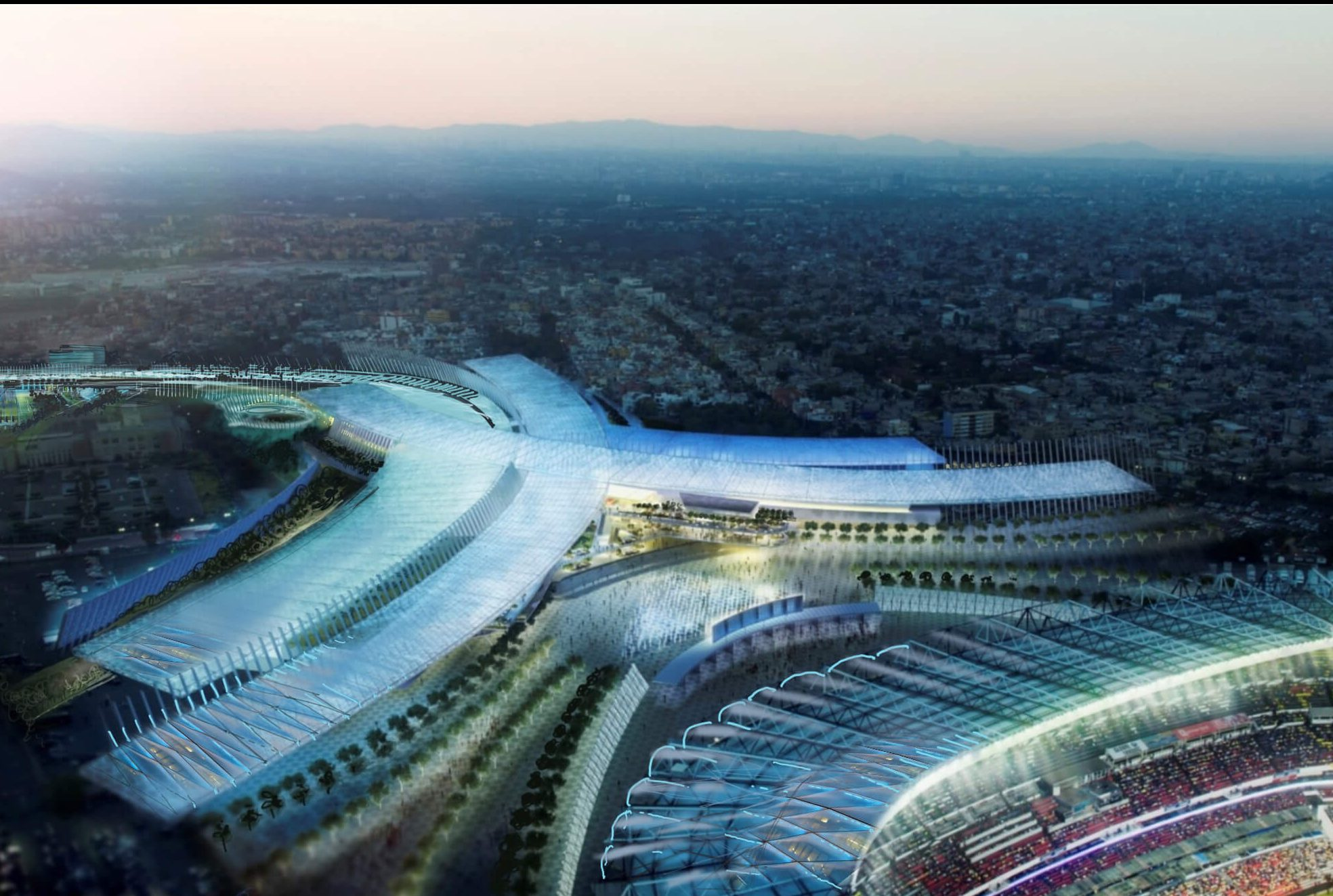 Vecinos decidirán futuro del proyecto inmobiliario 'Conjunto Estadio Azteca'