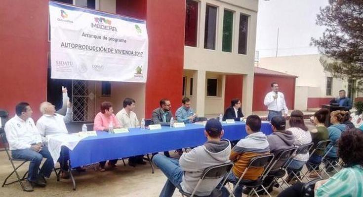 Invertirán 7 mdp para autoconstrucción en Chihuahua