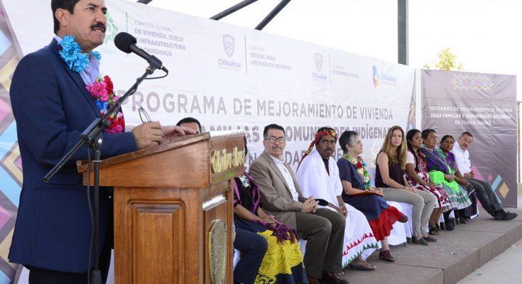 Inicia Programa de Mejoramiento de Vivienda para comunidades indígenas