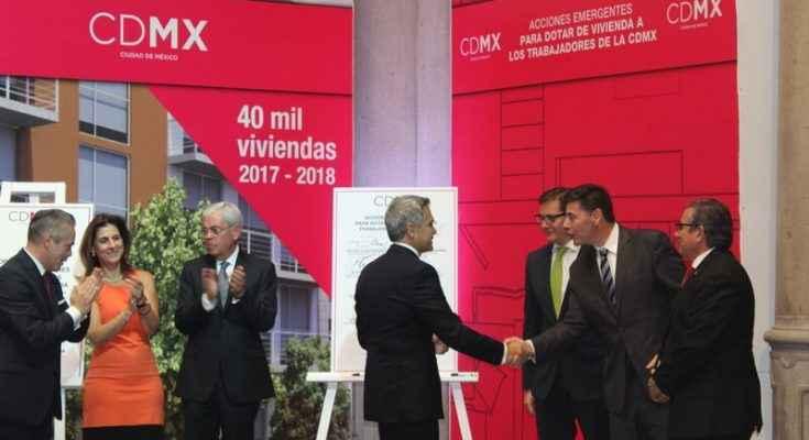 Van por 40,000 viviendas en la CDMX