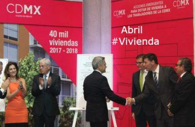 #LoMejorDelAño Van por 40,000 viviendas en la CDMX