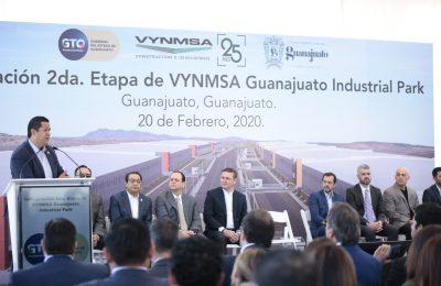 VYNMSA invierte 85 mdd en ampliación de Guanajuato Industrial Park