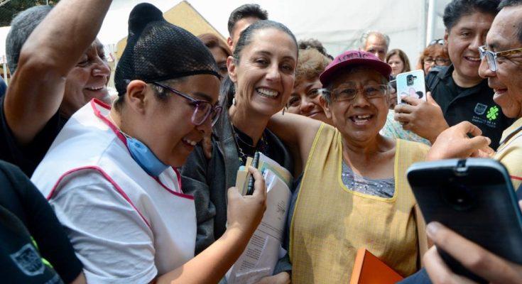 Inauguran poste de conectividad en Coyoacán