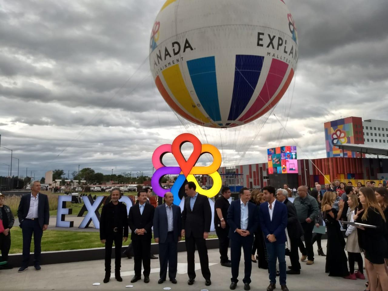 Gicsa inaugura el mallterteinment Explanada Puebla