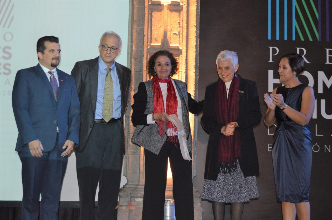 Premio HyM 2018 rindió homenaje a dos leyendas de la arquitectura mexicana