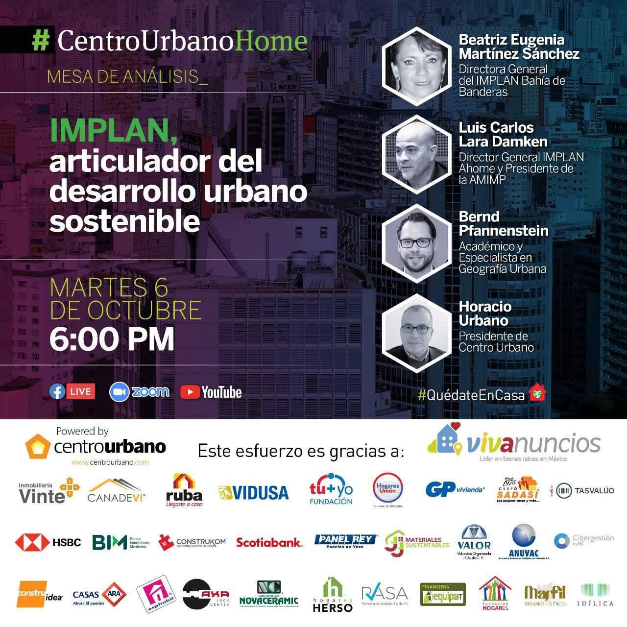 IMPLAN, articulador del desarrollo urbano sostenible-CU Homer