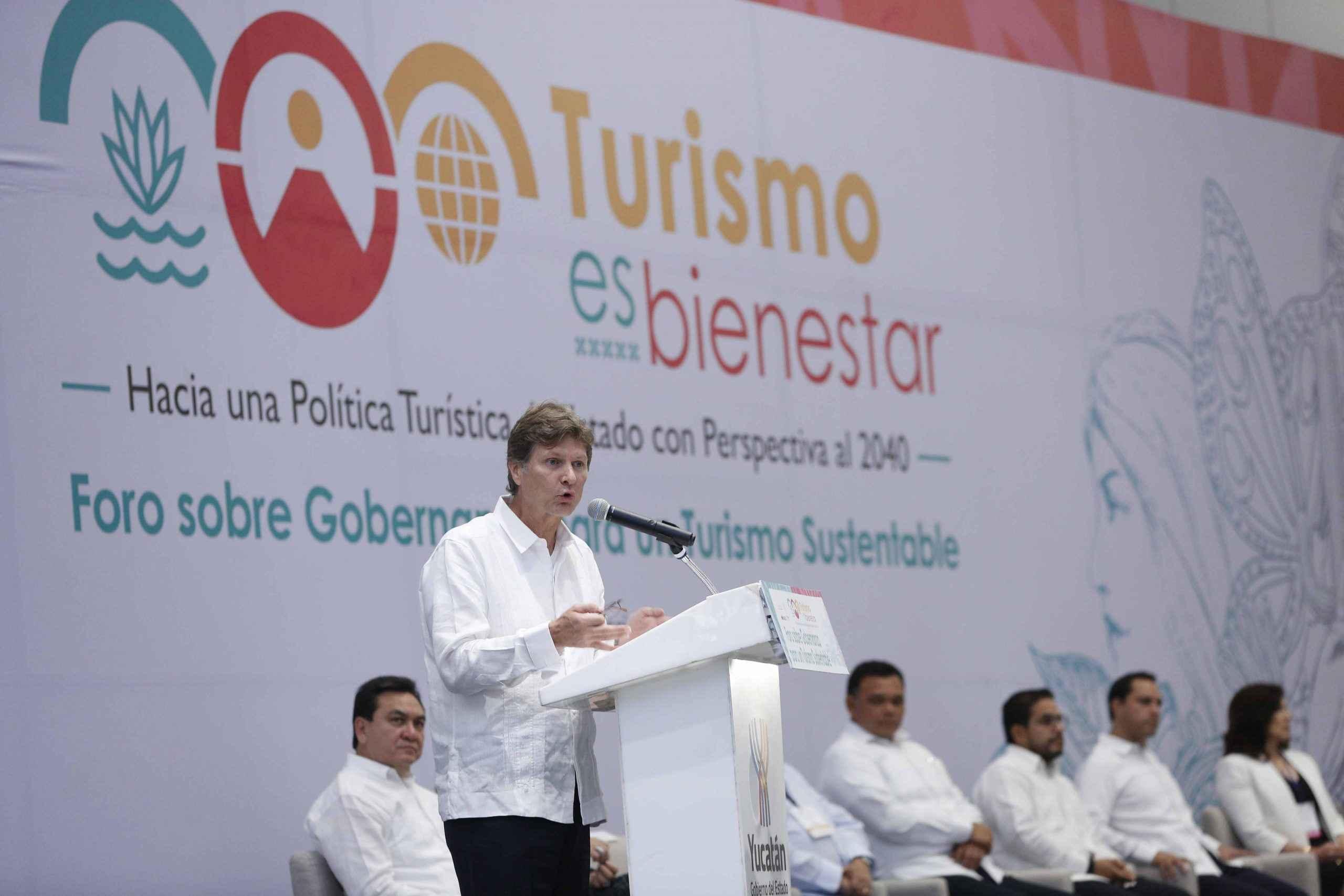 Turismo se desarrolla con perspectiva al 2040