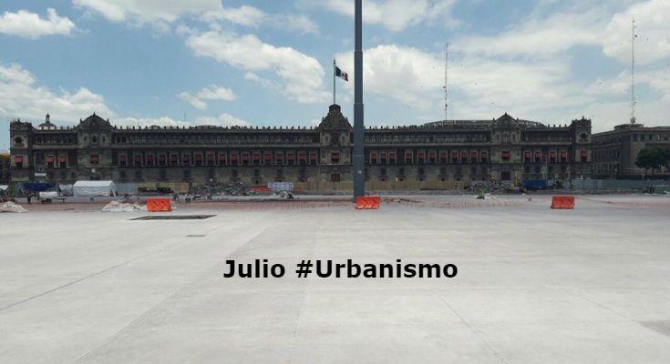 #LoMejorDelAño Renovación del Zócalo, con 52% de avance