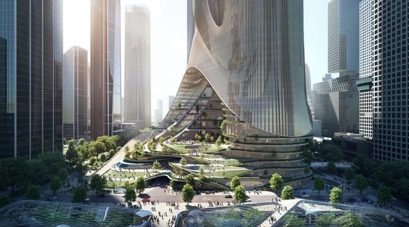 ZHA diseñará la Torre C, una 'ciudad vertical' en Shenzhen