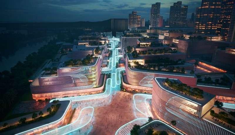 ZHA presenta plan de renovación del puerto de Huanggang, China