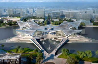 ZHA revela diseño de un nuevo centro de arte en China