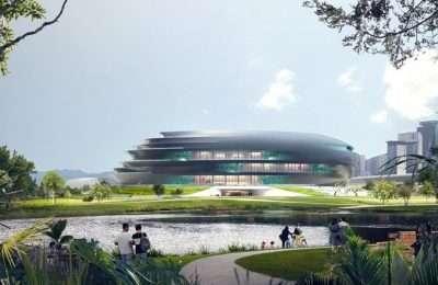 ZHA revela diseño del Museo de Ciencia y Tecnología de Shenzhen