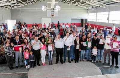 Invertirán 8 mdp para autoconstrucción en Zacatecas