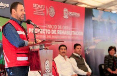 Rehabilitarán Parque de la Plata en Zacatecas