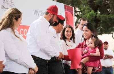 Invierten 27 mdp para acciones de vivienda en Zacatecas