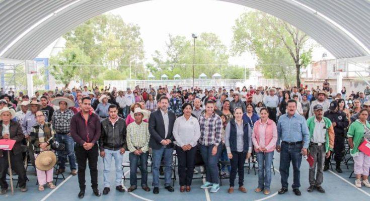 Invierten 730,000 pesos para mejoramiento en Zacatecas