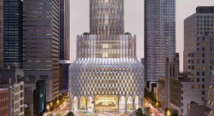 Zaha Hadid architects diseña rascacielos en Manhattan