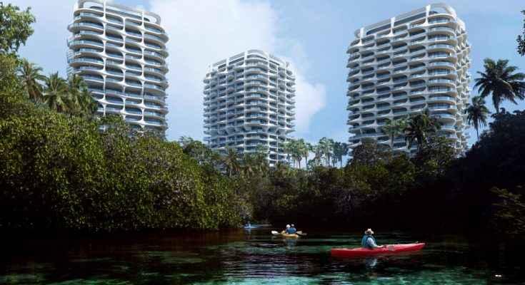 Zaha Hadid Architectsdiseña complejo ecológico en la Riviera Maya