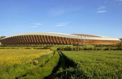 Zaha Hadid realizará estadio de fútbol con materiales renovables