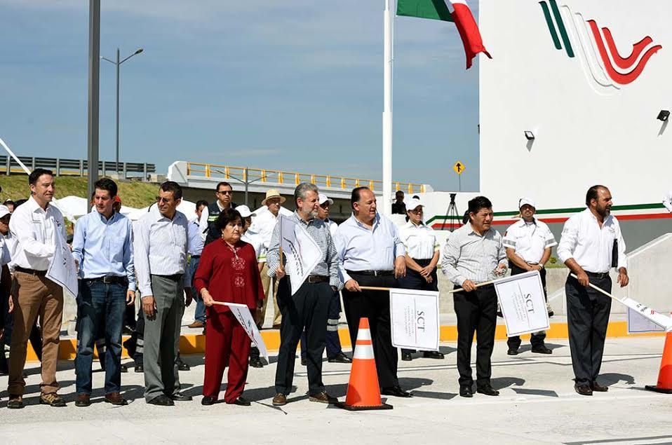 """Se inauguró la Plaza de Cobro 107 """"Emiliano Zapata"""" con una inversión de 90 mdp"""