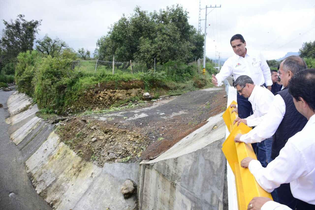 Nuevo Puente vehicular en Peribán