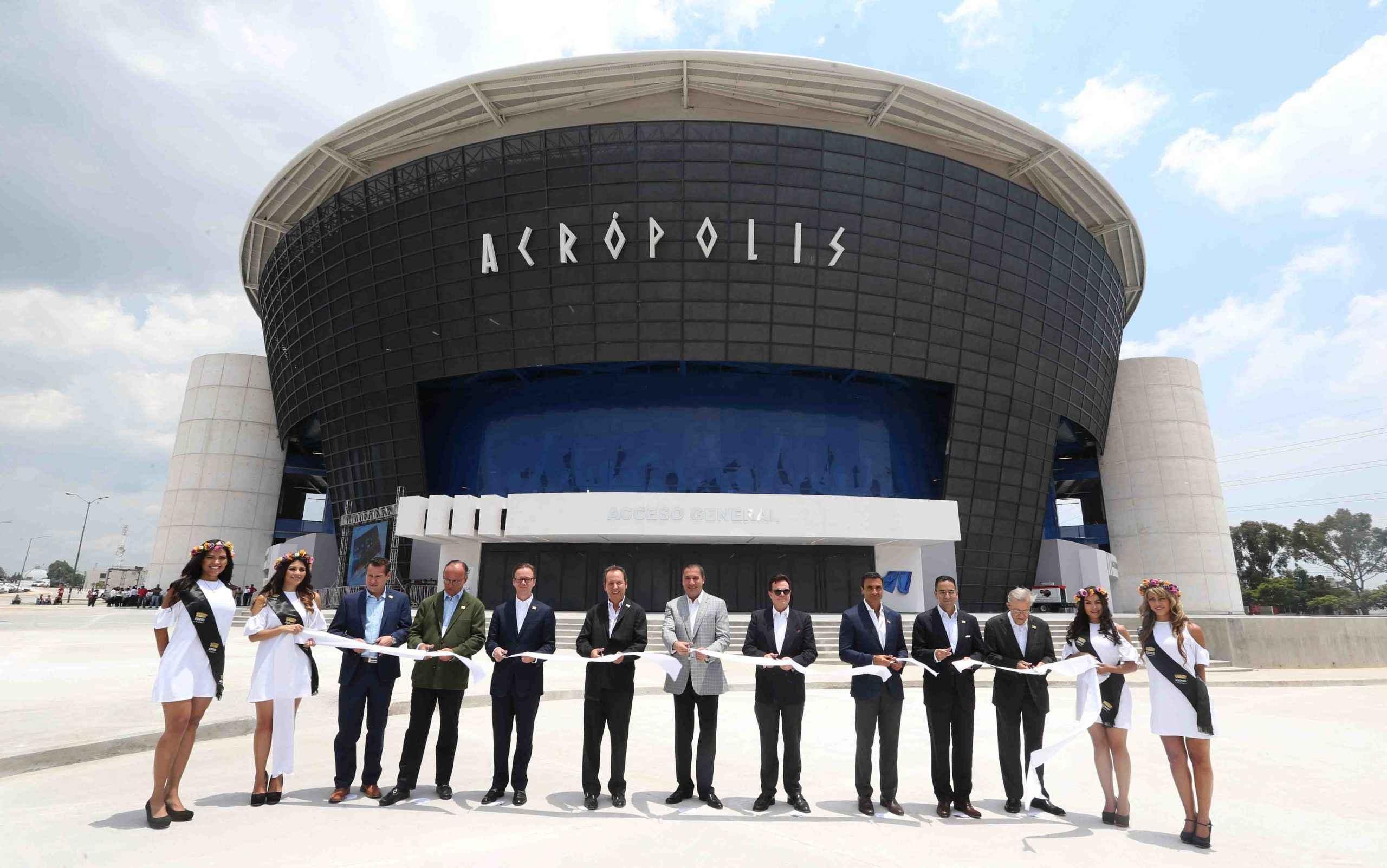 Con inversión de 400 mdp inauguran Acrópolis en Puebla
