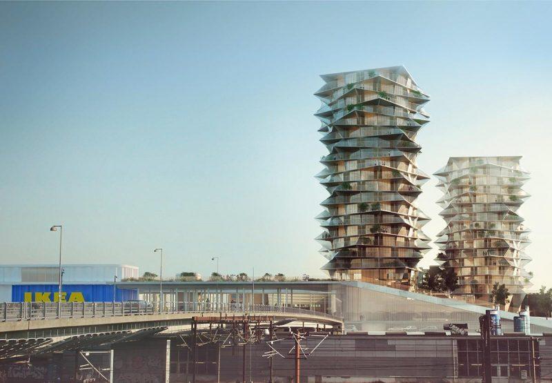 Diseñan el hotel más grande de países nórdicos