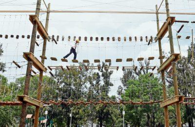 Rehabilitan espacios deportivos en la CDMX