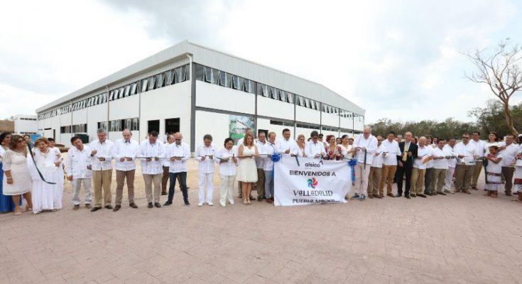 Inauguraron instalaciones de la empresa Alsico Promex