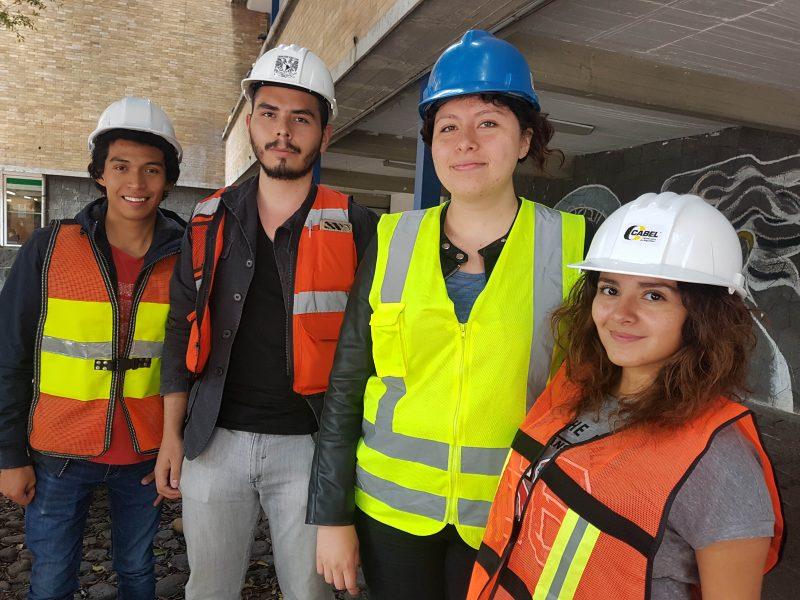Sismo cambió perspectiva de estudiantes de arquitectura