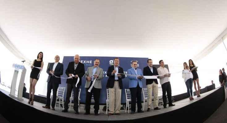 Márquez inauguró parque industrial 21 de su administración