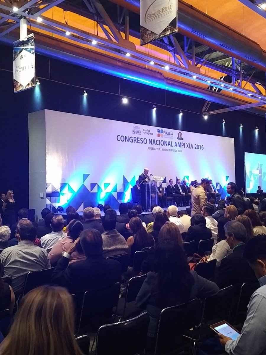 AMPI inaugura XLV Congreso Nacional en Puebla
