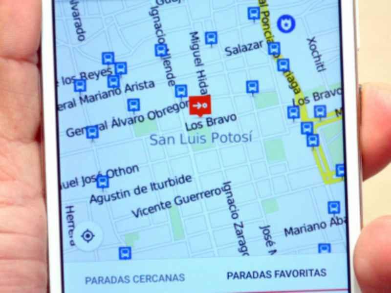 San Luís Potosí implementa aplicación de transporte público