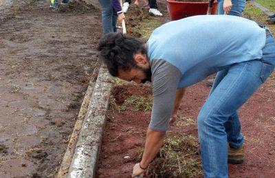 Universitarios recuperan espacio público en Iztapalapa