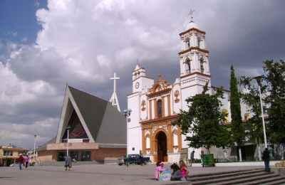 Continúa la construcción de parque ecológico en Atlacomulco