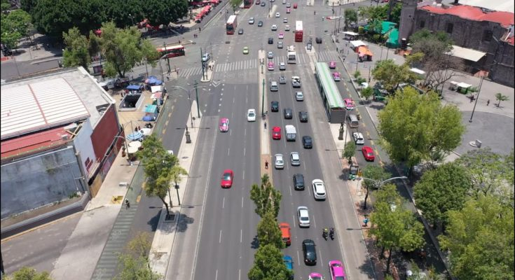 Avenida Hidalgo opera en un solo sentido por rehabilitación