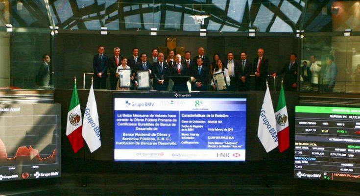 Banobras emitió bono sustentable por 10,000 mdp