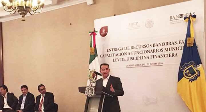 Otorgan recursos a Jalisco para infraestructura social