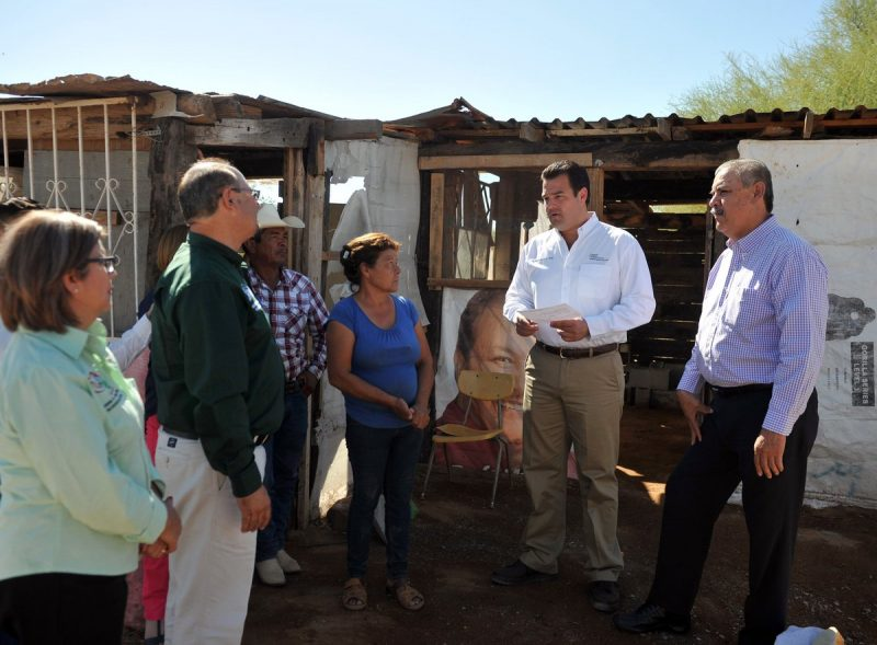Verificaron mejoramiento de vivienda en Sonora