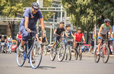 """Más de 79 mil personas participan en """"Muévete en bici"""""""