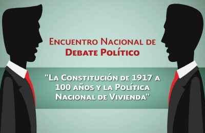 Convoca Fovissste al Encuentro Nacional de Debate Político