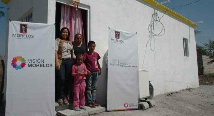 Invertirán 18 mdp para construir vivienda en Morelos