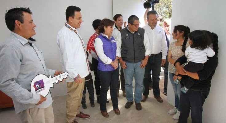 Sedatu ha entregado más de 25,000 Cuartos Rosas en Hidalgo