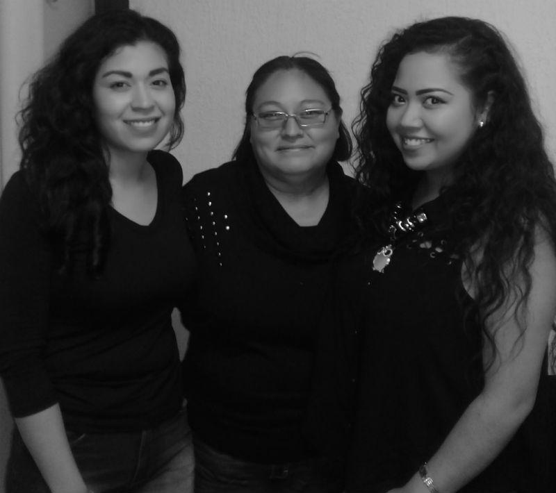 Anabel Martínez Guzmán, Eva María Urban Díaz y Brenda Vargas Márquez